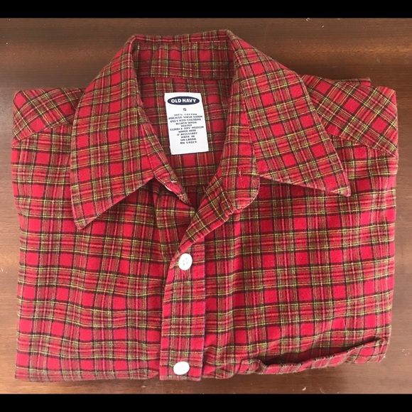 Old Navy Other - ❤️Sale Old Navy Plaid Flannel Shirt